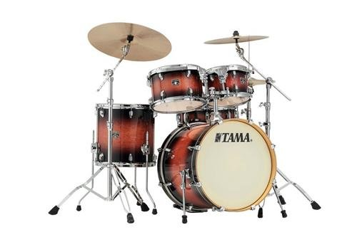 Tama Superstar Classic 5-Piece Shell Pack with 20 in. Bass Drum Mahogany Burst