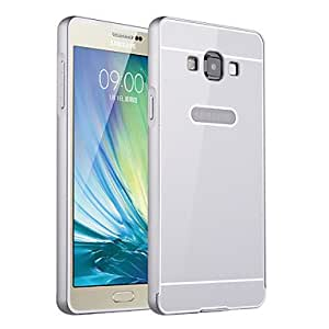 HJZ Metal Framework With PC Back Cover Hard Cover for Samsung S6(Assorted Color) , Silver