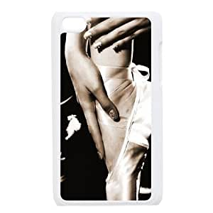 Dancing Customized Cover Case with Hard Shell Protection for Ipod Touch 4 Case lxa#857666
