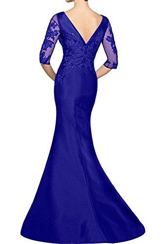 La Lang Partykleider Braut Marie Royal Abendkleider Rock Lila Blau Ballkleider Dunkel Meerjungfrau Damen Etuikleider rqrC6wv