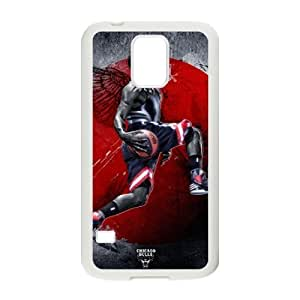 C-EUR Customized Print Derrick Rose Hard Skin Case Compatible For Samsung Galaxy S5 I9600