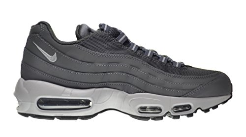 reputable site 426cc b8489 Nike Air Max  95 Men s Shoes Dark Grey Wolf Grey-Black 609048-