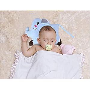 Kids Pillow,Baby Sleep Pillow Toddler Pillow for Sleeping,Cute Cartoon Icesilk Pillowcase