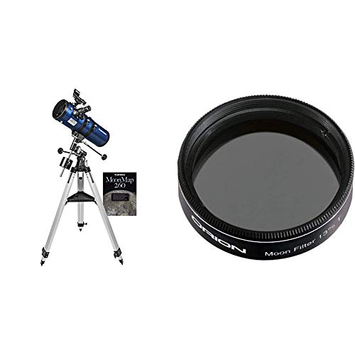 Orion StarBlast II 4.5 Equatorial Reflector Telescope &  05662 1.25-Inch 13 Percent Transmission Moon Filter (Black)
