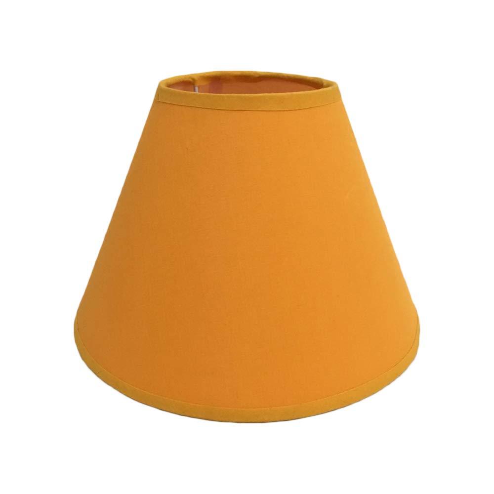Pantalla de tela de lino para lámpara de pared, lámpara de ...