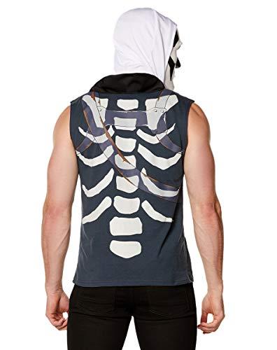 Spirit Halloween Fortnite Skull Trooper Kit - L