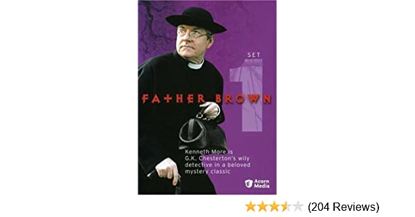 5d4373662f9a Amazon.com  Father Brown - Set 1  Kenneth More