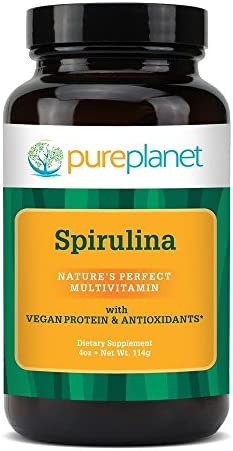 Pure Planet Premium Spirulina Powder – 4 oz