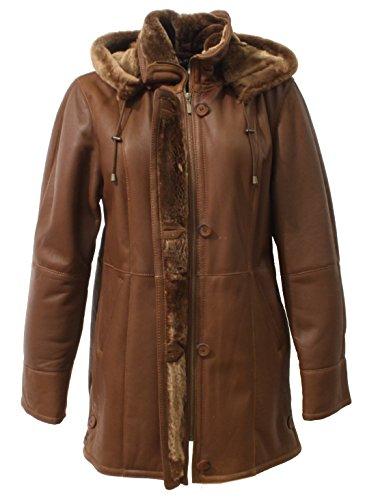 Mujer Coñac Trendboutique Abrigo Abrigo Trendboutique Para wnfaRq