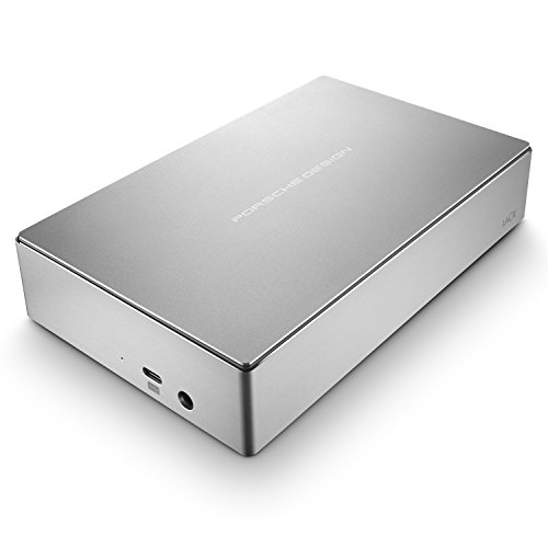 LaCie Porsche Design 4TB USB-C Desktop Hard Drive + 2mo Adobe CC Photography (STFE4000401)