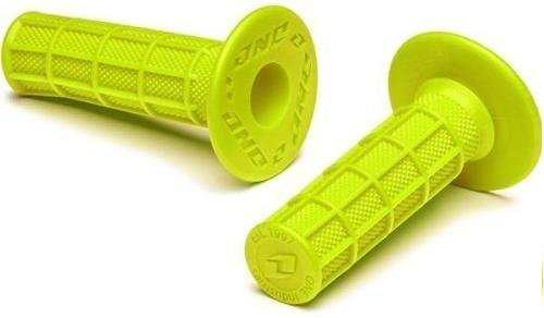 FULL WAFFLE ONE INDUSTRIES ATOM GRIPS MEDIUM COMPOUND LIME GREEN CHARTREUSE
