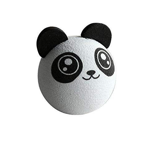 Zehaer Antenna Ball, Panda EVA Car Antenna Topper Aerial Topper Truck SUV Pen Decoration