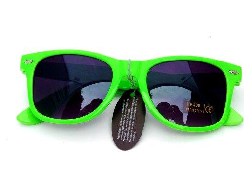 ray ban neon grün