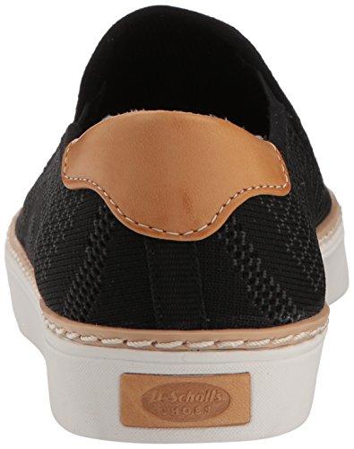 Dr Women's Scholl's Black Sneaker Madi Shoes Knit 118H7q