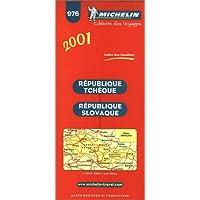 Carte routière : République tchèque - République slovaque, 976, 1/600000