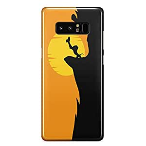 Loud Universe The Main scene Lion King First Scene Samsung Note 8 Case Simba Samsung Note 8 Cover with 3d Wrap around Edges