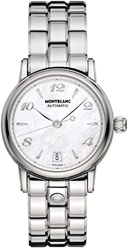 MontBlanc Star Mother of Pearl Dial 36mm Women's Watch 107117