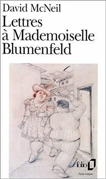 Lettres à Mademoiselle Blumenfeld par McNeil
