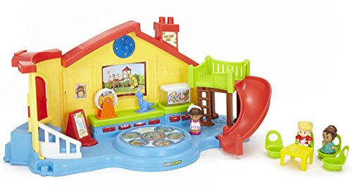Fisher-Price Little People Place Musical Preschool Playset