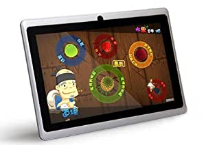 ZTO 7-Inch Android 4.0 4GB Capacitive Multi-Touchscreen Widescreen Internet Tablet 1.2GHz Processor with Built-In Camera White N1