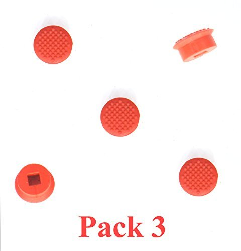 (Pack 3 Super Low Profile Trackpoint Caps for Lenovo Thinkpad T460S T460P P70 T470 T470S ThinkPad X1 Carbon (Year 2016, 2017 Model), X1 Yoga,ThinkPad 13)