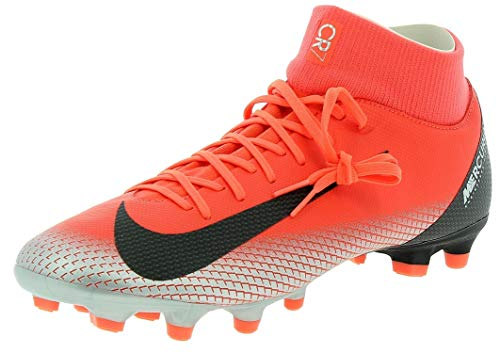 NIKE Mercurial Superfly 6 Academy CR7 MG Soccer Cleat (Bright Crimson) (Men's 12/Women's 13.5)