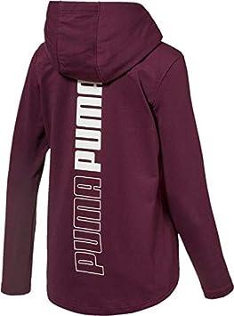 Sweatshirt Donna Puma Modern Sport FZ Logo Hoody
