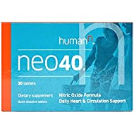 HumanN Neo40 Daily Heart and Circulation Support Nitric Oxide Boosting Supplement (30 Tablets)