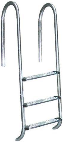 Acero inoxidable Piscina Escalera estrecha Holm 5 niveles de socket de ancla: Amazon.es: Hogar