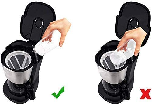 Koffiezetapparaat, 650ml koffiezetapparaat met Anti Druppel functie, koffiezetapparaat, Anti-Drip systeem, Permanent Herbruikbare Filter, Zwart, for espressokooktoestel peng