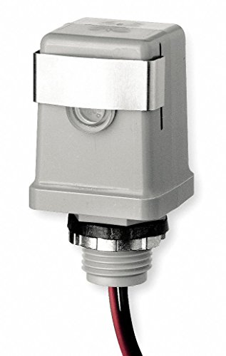 - Intermatic K4123C Polycarbonate 1/2-14 Stem Side Mount Thermal Raintight Photocontrol 208 - 277 Volt AC