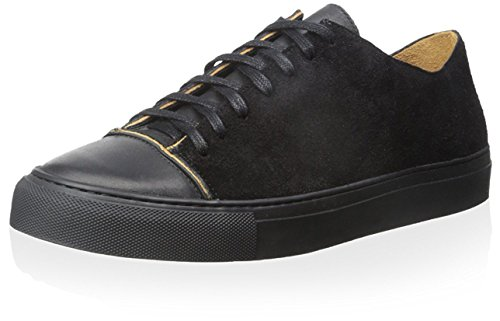 Damir Doma Men's Fulcia Low Top Sneaker, Coal, 37 M EU/4 M - Doma Men Damir