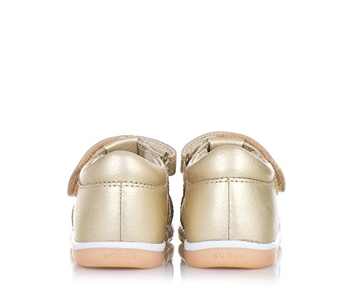 BOBUX - Goldener Step Up I-Walk Skip Schuh aus atmungsaktivem Leder, äußerst flexibel, er erlaubt eine freie Entwicklung, Mädchen