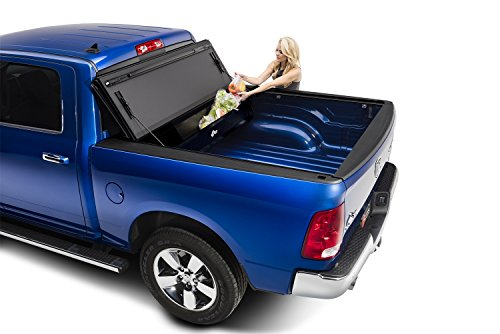 BAK Industries BAKFlip MX4  Hard Folding Truck Bed Cover 448207 2009-18 DODGE Ram W/O Ram Box 5' 7