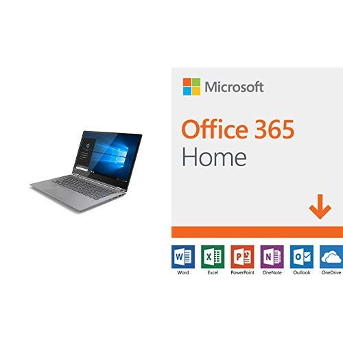 Lenovo Flex 14 2-in-1 Convertible Laptop, 14-Inch IPS Touchscreen display,  Intel Core i7-8550U 1 8GHz with Microsoft Office 365 Home
