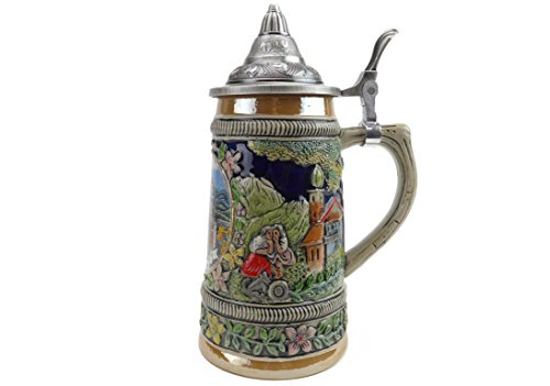 - Beer Stein: Ludwig .5L With Lid