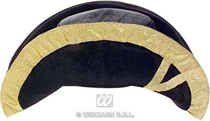 Deluxe Napoleon Hat (Adult's Velvet Tricorn Hat)