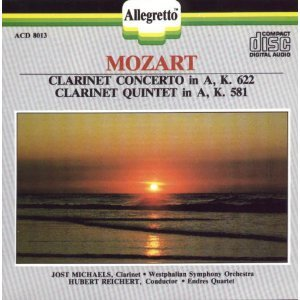 Clarinet Concerto / Clarinet Quintet