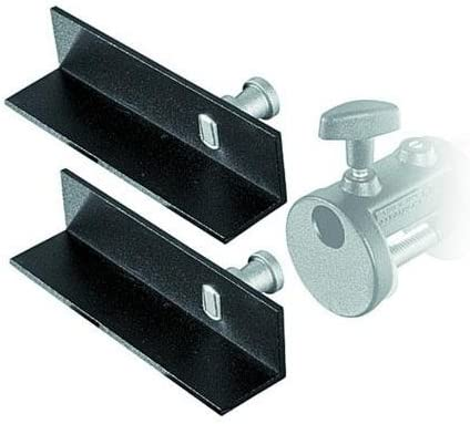 Replaces 2948 Manfrotto 204 Mini L-Brackets for Mini Clamp Set of 2