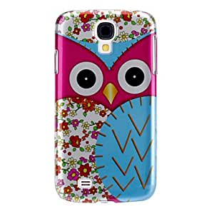 hello Exquisite Owl Pattern Hard Case for Samsung Galaxy S4 I9500