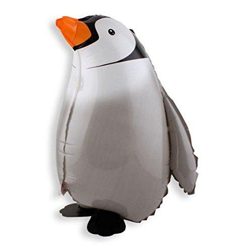 Walking Penguin Helium Balloon Birthday Kids Party Toy, Set of (Penguin Birthday)