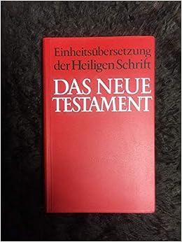 EinheitsübersetzungBuchZustand sehr gut Das Neue Testament