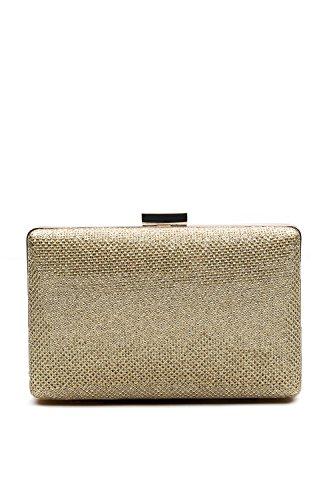 Cream Clutch (Women Clutch Purse Wallet Hard Case Evening Bag Glitter Handbag With Chain Strap (cream beige))