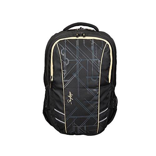 Skybags 17 inch 27 Ltrs Black Laptop Backpack (LPBPGIZ4BLK)