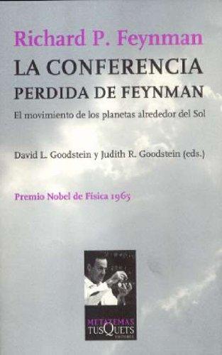 Descargar Libro La Conferencia Perdida De Feynman Richard Feynman