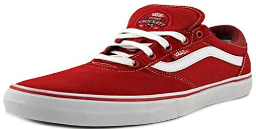 Vans Gilbert Crockett Pro Womens 8.5 / Mens 7 Pompeian Röd Vit Mode Sneaker