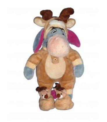 Disney - Peluche de Ígor disfrazado de reno de Papá Noel, 25 cm de altura: Amazon.es: Bebé