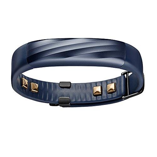 Jawbone UP3 Bluetooth Aktivitäts-/Schlaftracker-Armband (für Apple iOS und Android) indigo twist