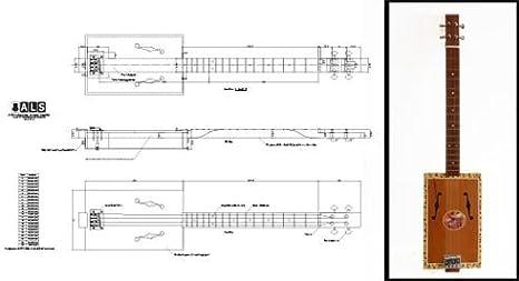 Plan de Una caja de puros guitarra acústica 4 cuerdas – Escala ...
