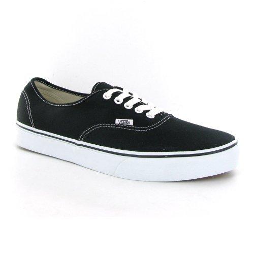 Vans Unisex Authentic Skate Shoe Black 42 M EU / 9 D(M) US
